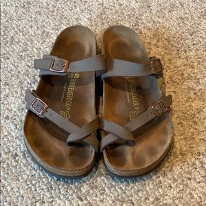 Birkenstock brown Mayari strappy sandals size 9